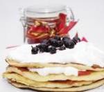 pancakes cu frisca