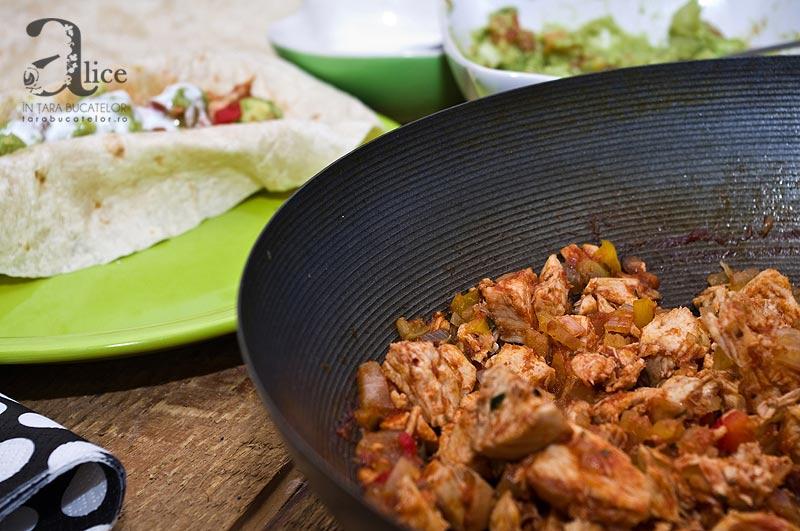 Tacos cu pui