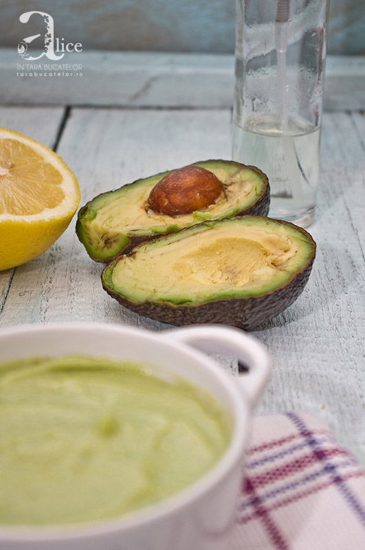 Maioneza de avocado - de post/vegan
