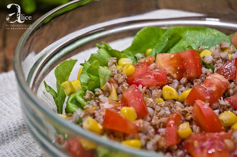 Salata cu hrisca