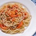 Spaghete cu creveti picanti