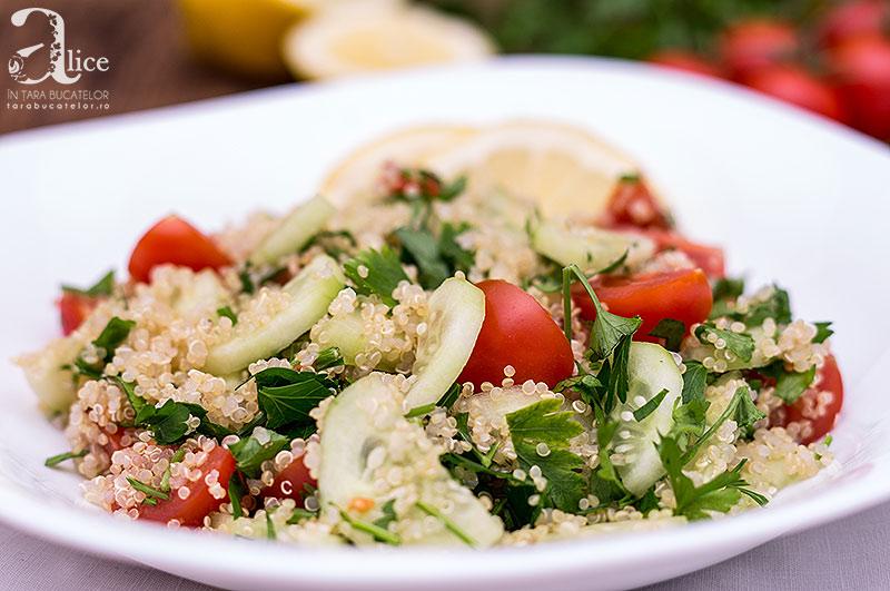 Tabouleh de quinoa