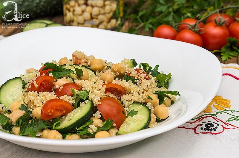 Salata de naut si quinoa