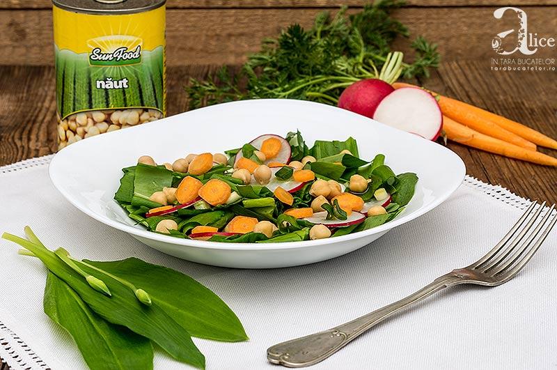 Salata de leurda cu naut