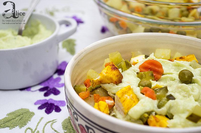 Salata de boeuf reinventata