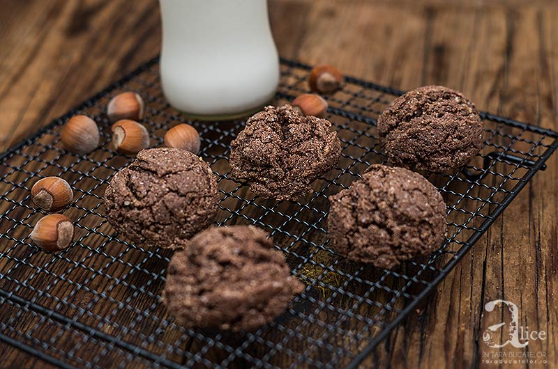 Cookies cu faina de amaranth si unt de alune