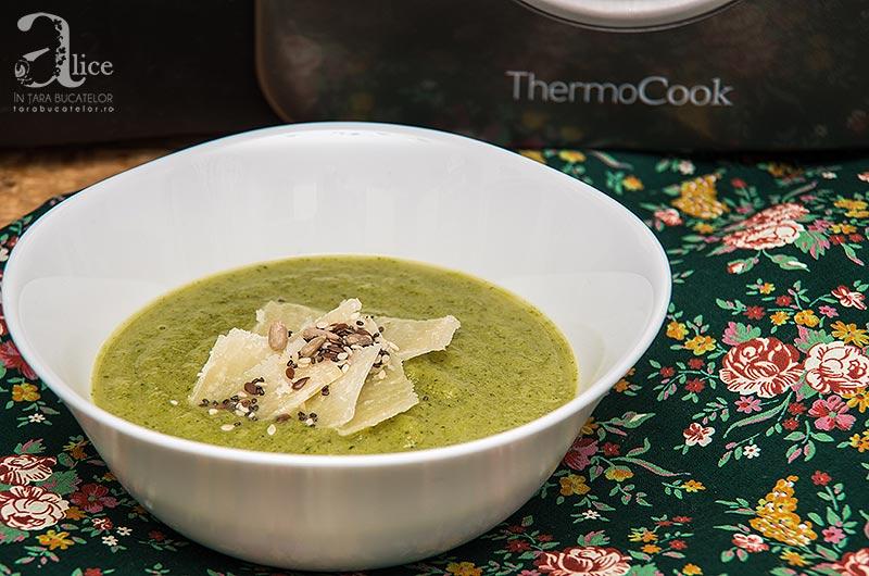 Supa crema de brocoli la Thermocook