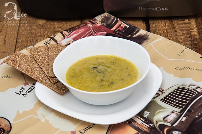 Supa de praz la Thermocook