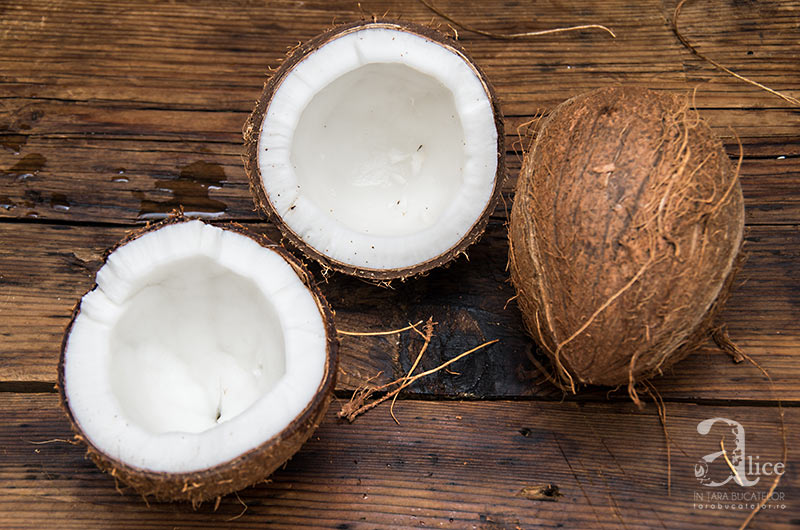 lapte de cocos facut in casa