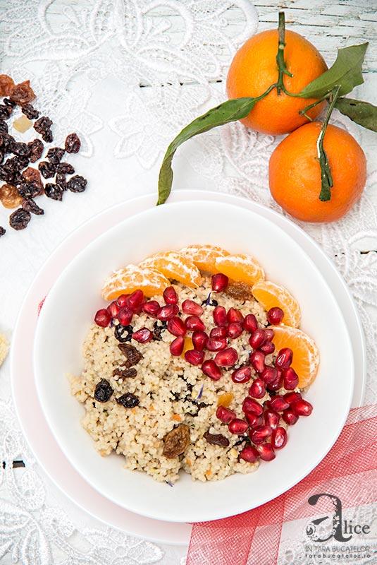 Cuscus floral fara gluten