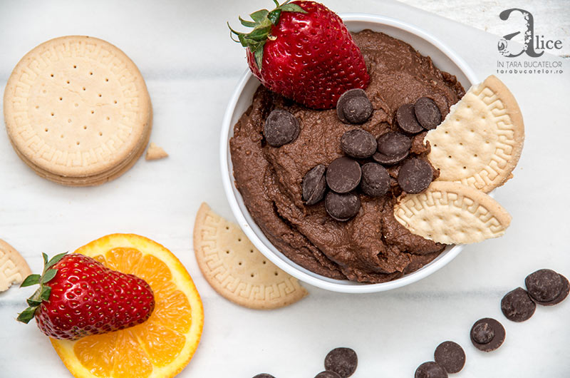 Hummus de ciocolata