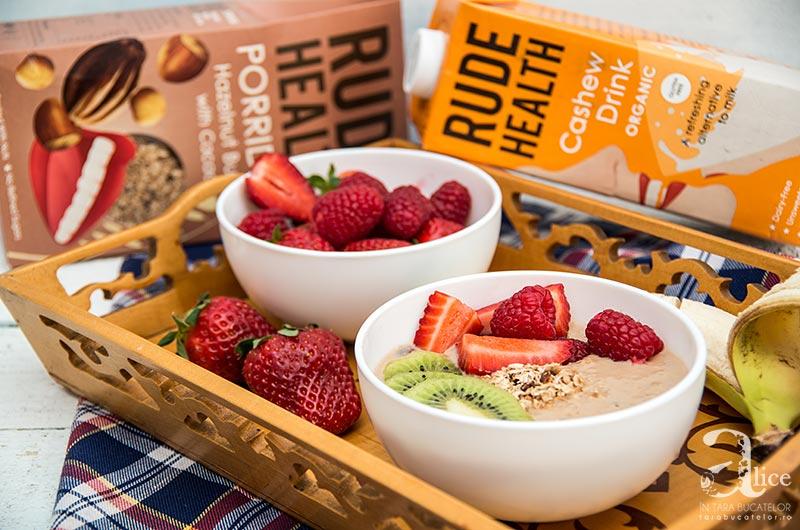 Porridge cu fructe
