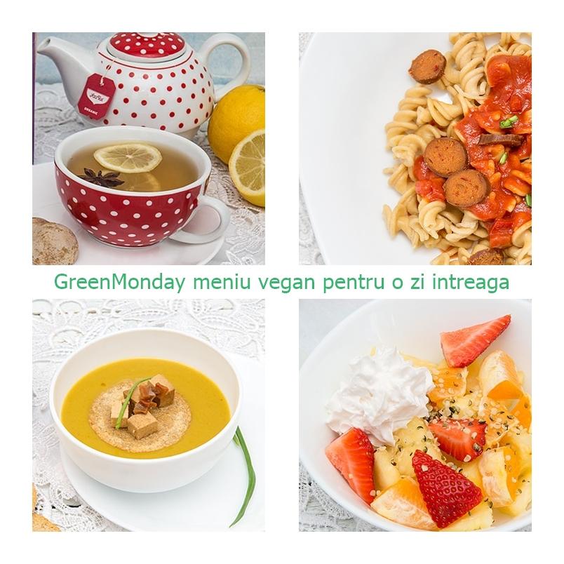 Meniu vegan pentru o zi intreaga