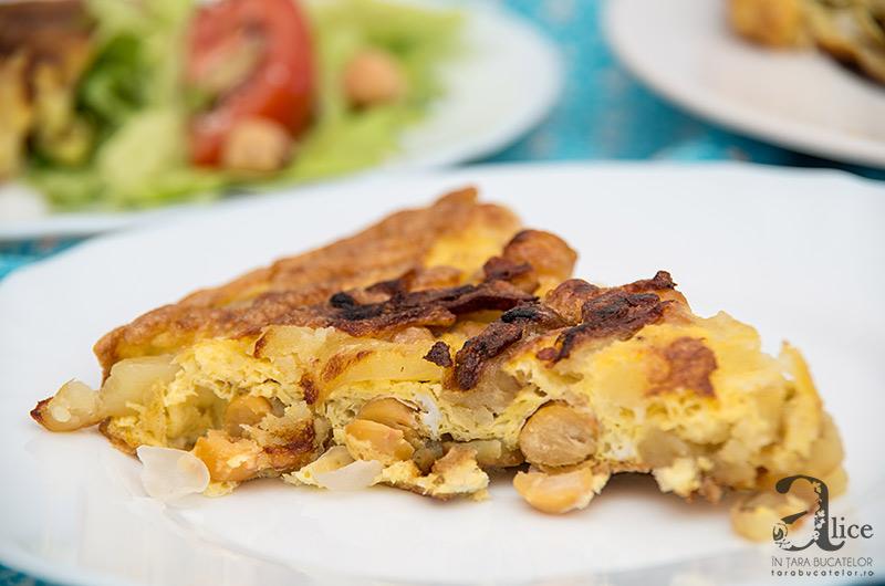 Tortilla cu naut