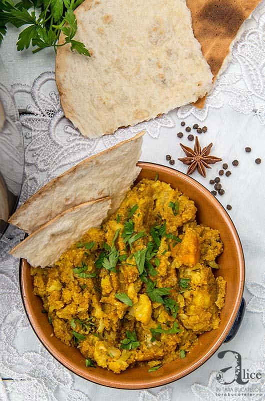 Curry de conopida si cartofi dulci