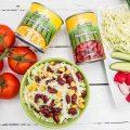 Salata de varza cu fasole rosie este ideala pentru perioadele de post dar si pentru perioadele calduroase cand avem nevoie de retete cat mai simple. Salata de varza cu fasole rosie
