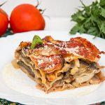 Lasagna cu legume si naut