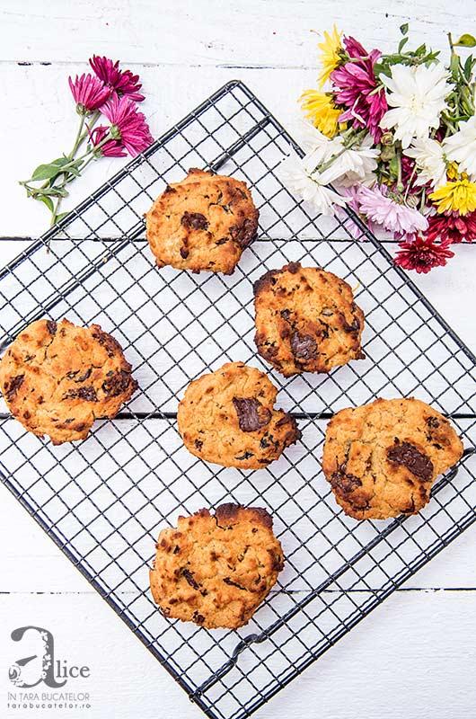 Cookies de naut cu ciocolata