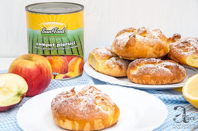 Placinte cu mere si piersici