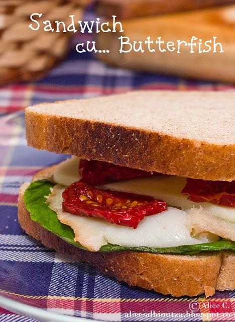 Sandwich cu butterfish