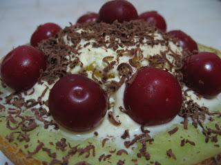 Inghetata de vanilie si pepene galben