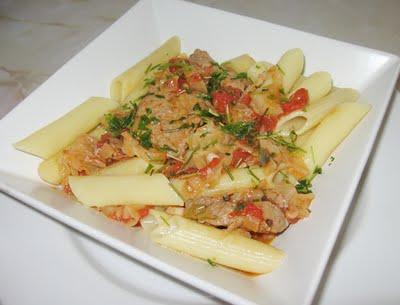 Porc cu legume in stil oriental
