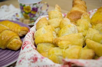 Croissants si mini-croissants