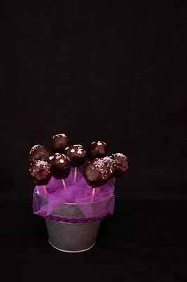 Brownie CaKe Pops cu menta