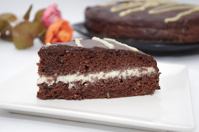 Ralu cake - Prajitura Raluca - lapte condensat si nuci