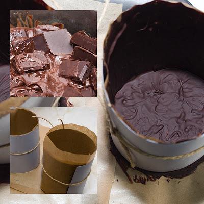 Parfe de ciocolata si cafea