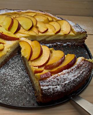 Summer fruit cheesecake