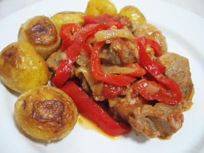 Friptura de porc cu ghimbir